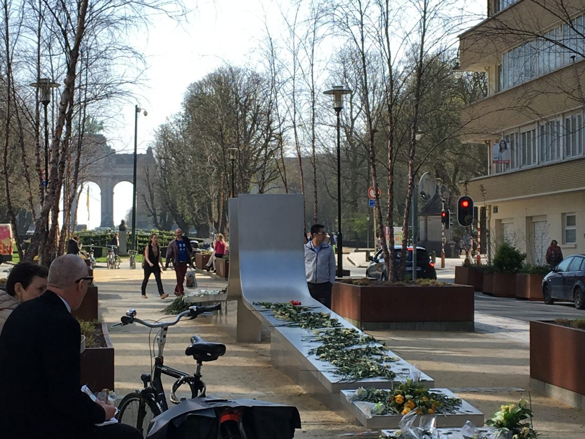 Brussels terrorist monument